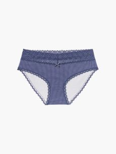 Hipster Maternity Panty with Lace