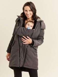 Quilted Maternity Parka