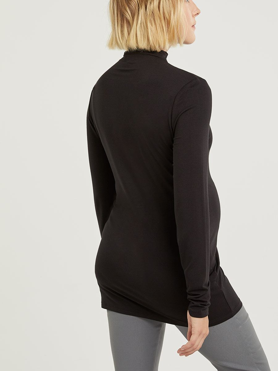 Stork & Babe - Funnel Neck Maternity Top