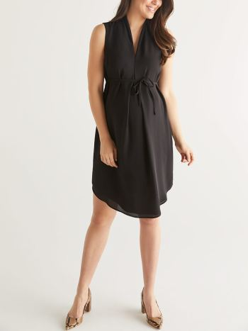 a2d3adabb3e7d Maternity Dresses for Work: Shop Online | Thyme Maternity Canada
