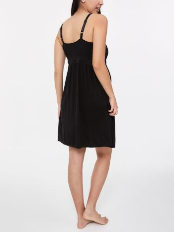 Sleeveless Nursing Nightdress