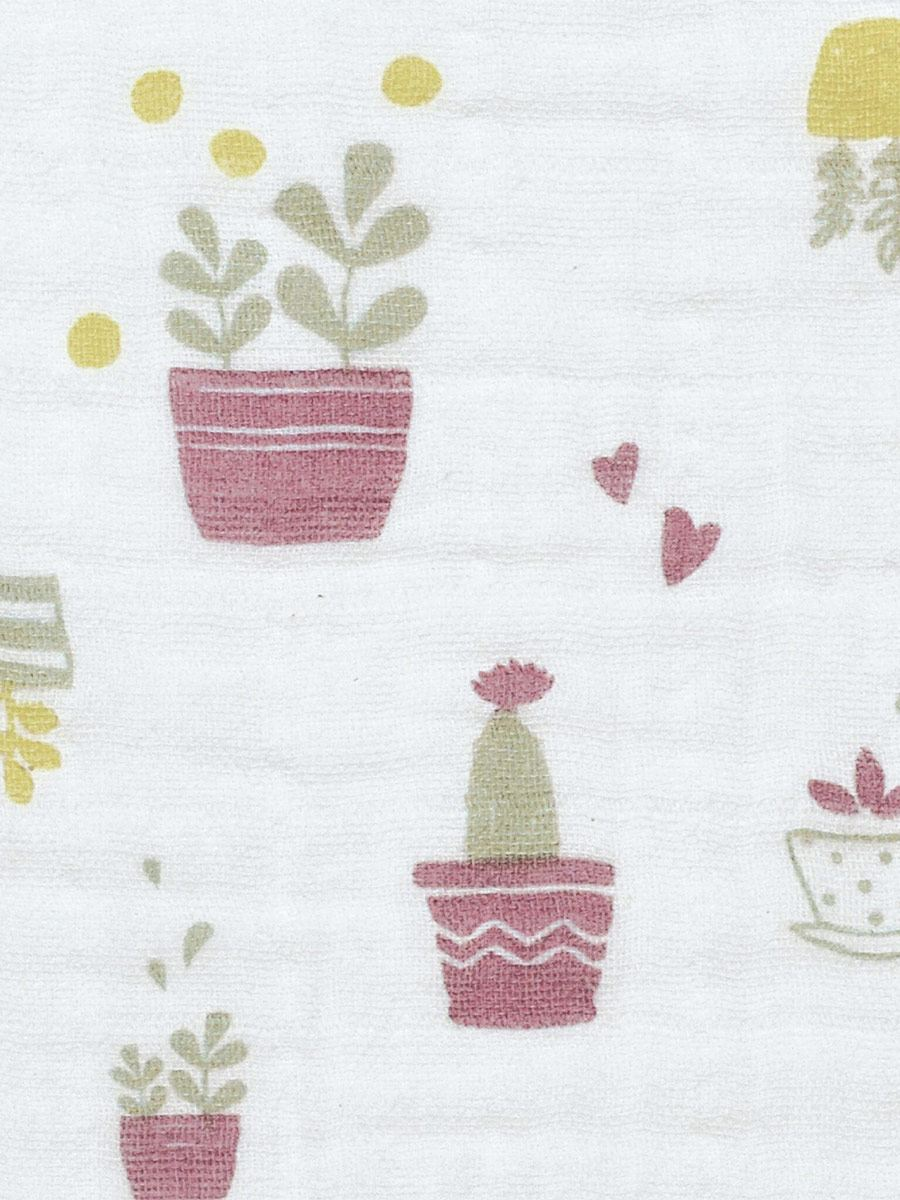 Perlimpinpin - Printed Cotton Baby Blanket