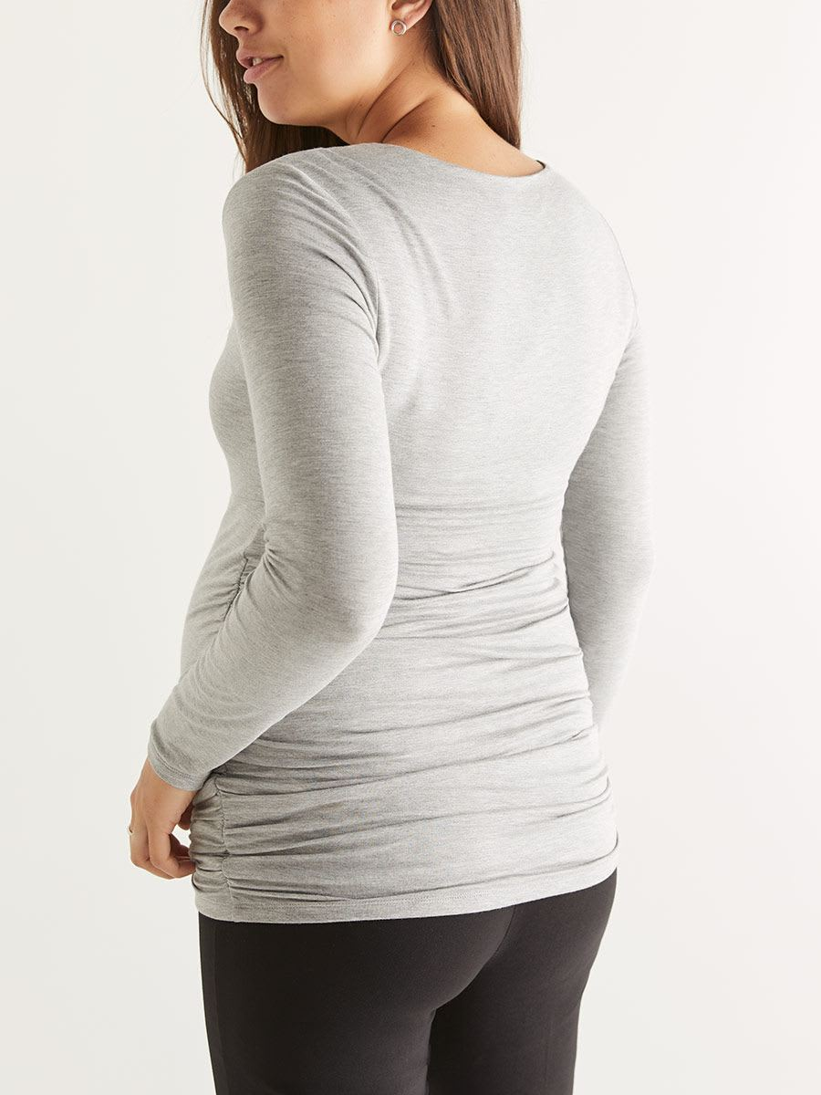 Stork & Babe - Ruched Maternity Top