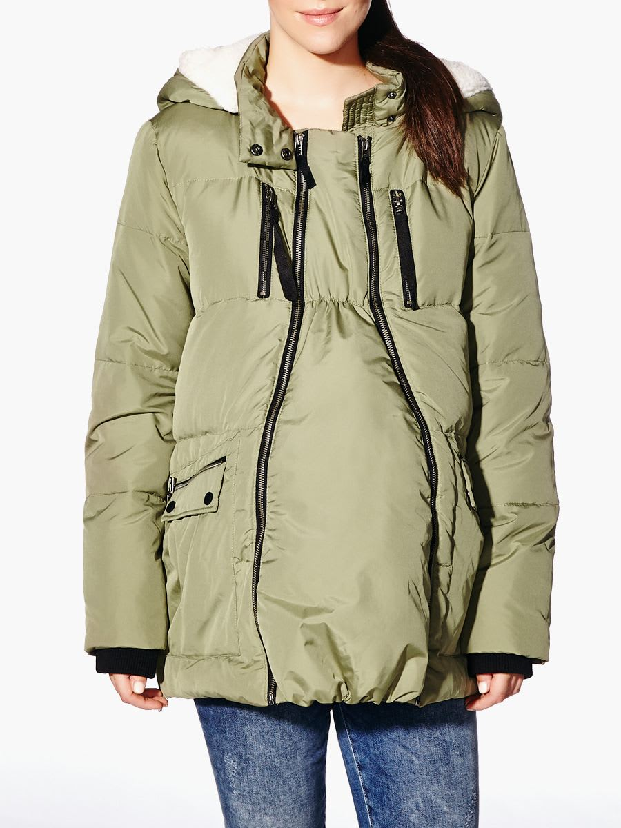 "Best Maternity Coats. Updated October I've always been jealous of those people who boast about never having to buy maternity coats. ""No, I just buy one a size bigger than normal, hehehe."" This down parka coat will see you through the winter months in style. 4."