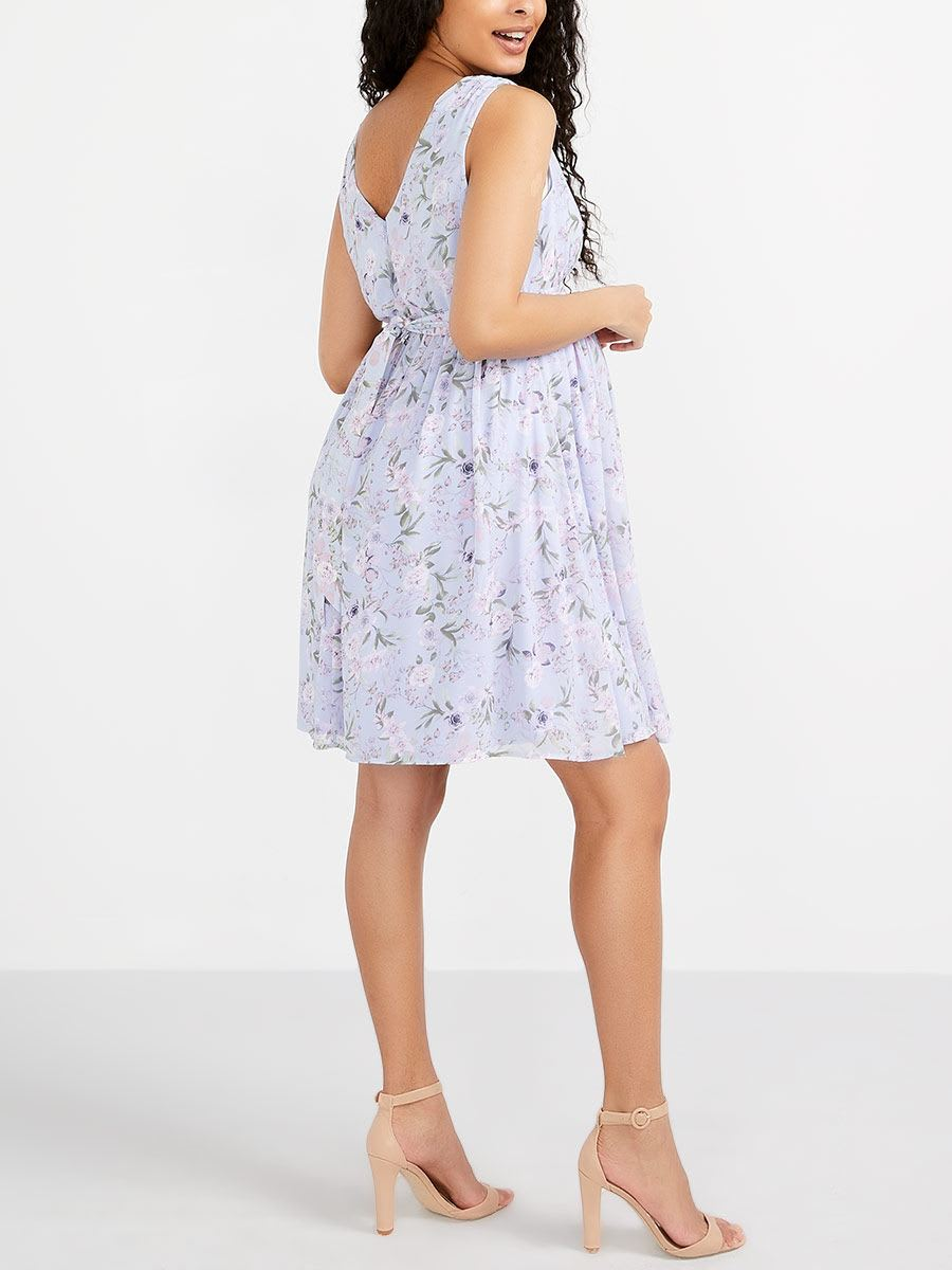 Stork & Babe - Floral Maternity Dress