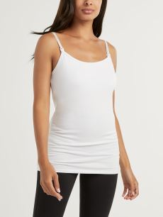 Nursing & Maternity Solid Tank Top