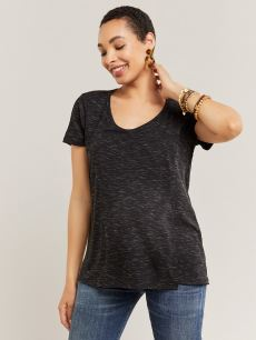 Space Dye Nursing & Maternity Top