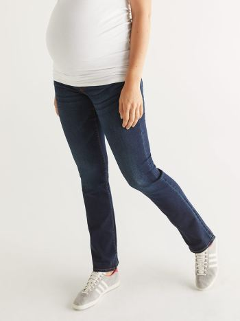 Ultra Dark Maternity Bootcut Jean