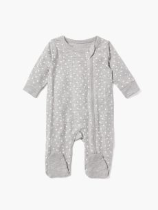 Baby Thyme - Footed One-Piece Cotton Pyjama