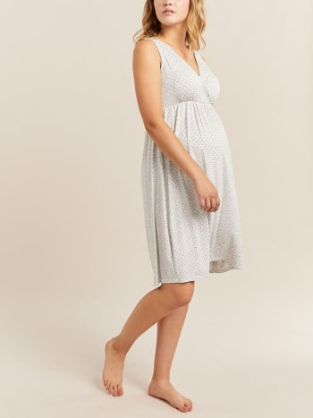 Printed Maternity Nightie