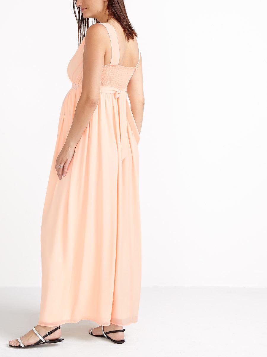0b4a3a9e49199 Stork & Babe - Sleeveless Maternity Maxi Dress   Thyme Maternity