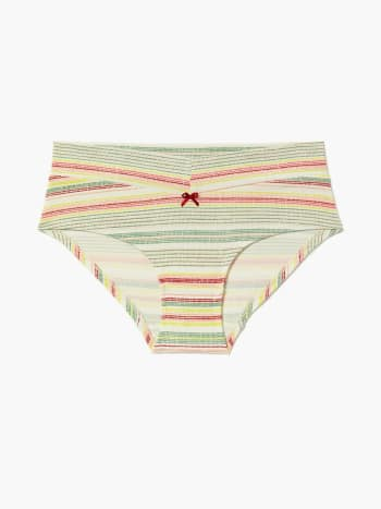 Striped Hipster Maternity Panty