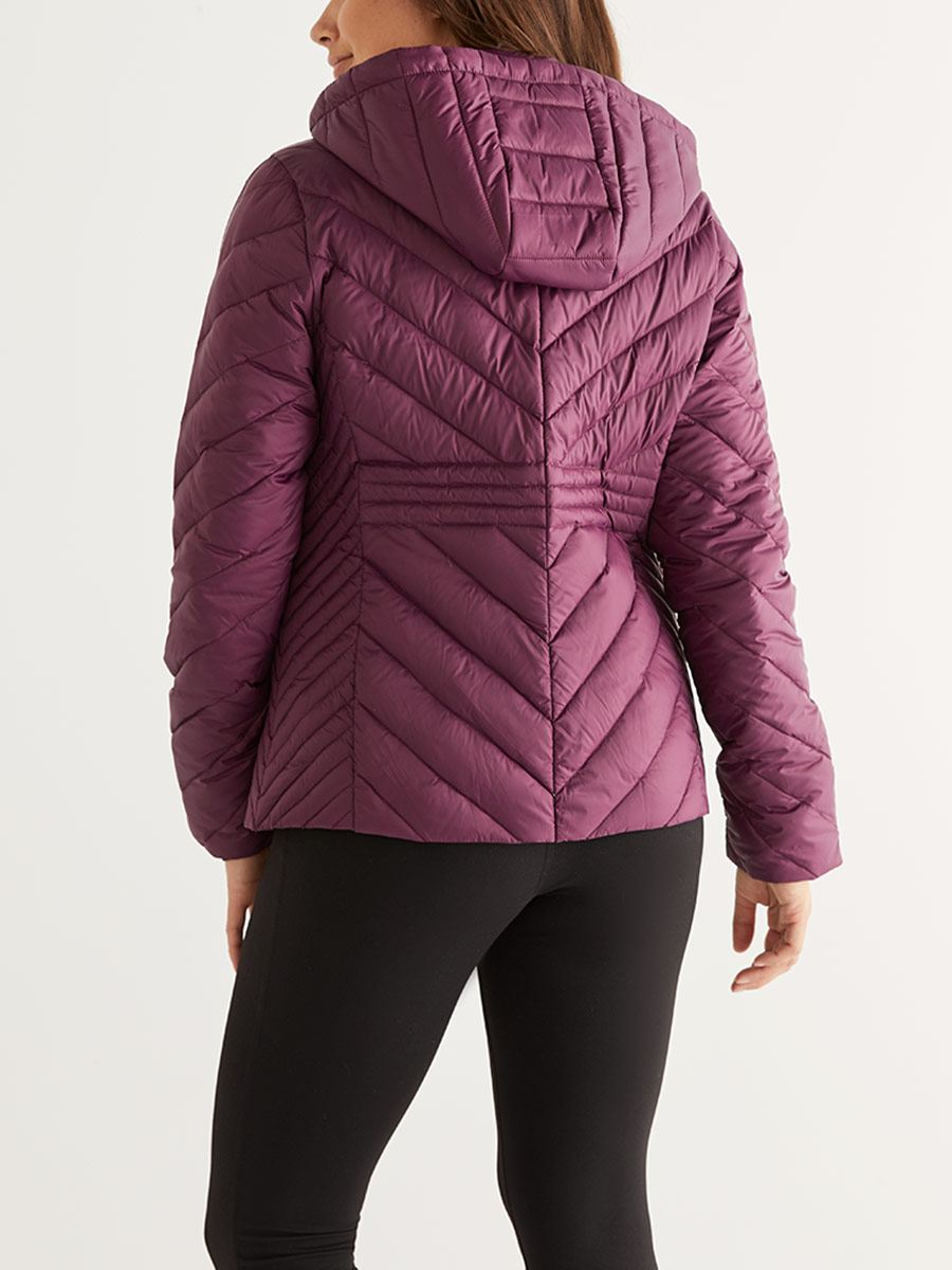 Short Packable Maternity Jacket