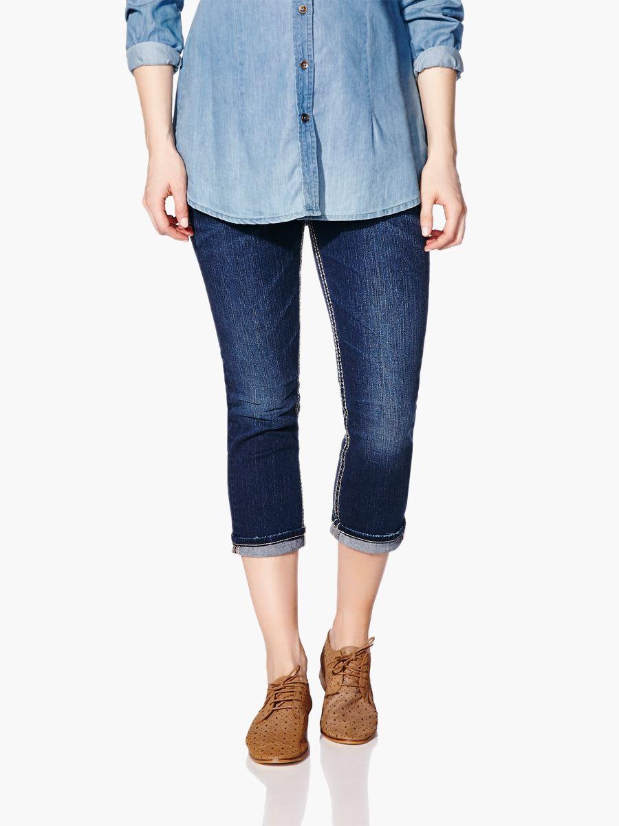 Silver Jeans - Maternity Denim Capri | Thyme Maternity