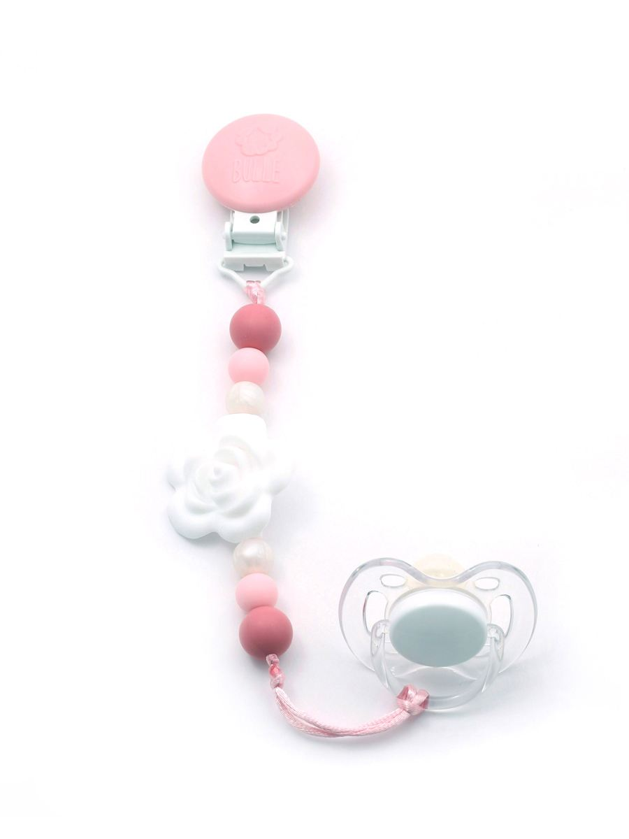 Bulle Jewelry - Teething Pacifier Clip
