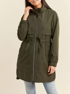 Belted Maternity Anorak Coat