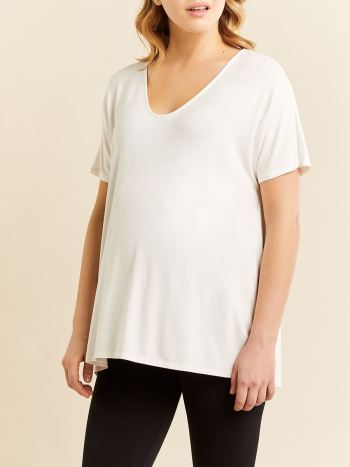 Soft Dolman Sleeve Maternity Top