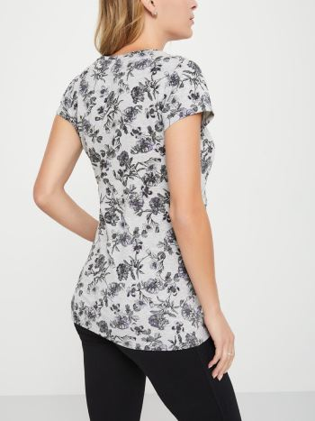 Printed Nursing Short Sleeve T-Shirt