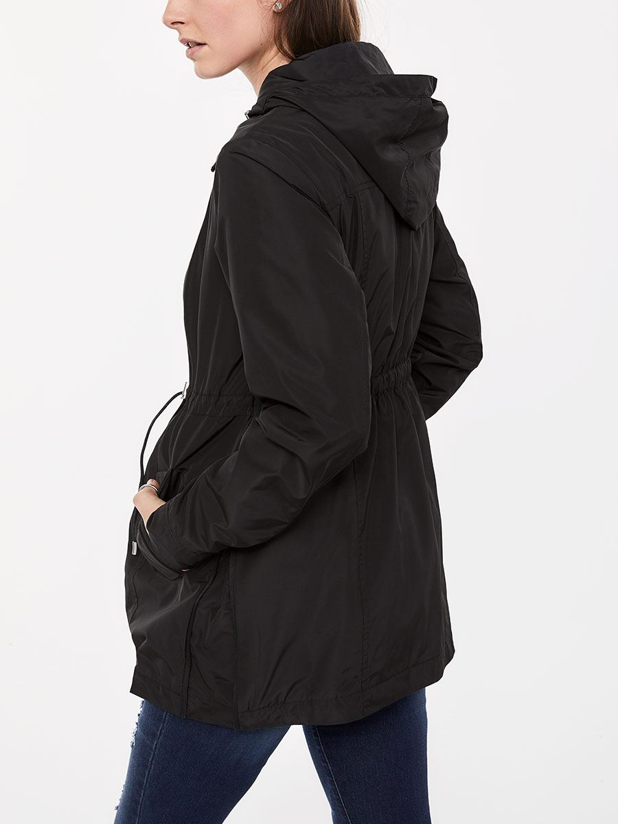 Lightweight Maternity Hooded Jacket