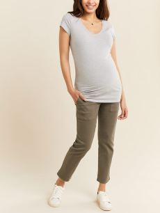 Tapered Utility Maternity Pant
