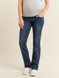 Blue Bootcut Maternity Jean