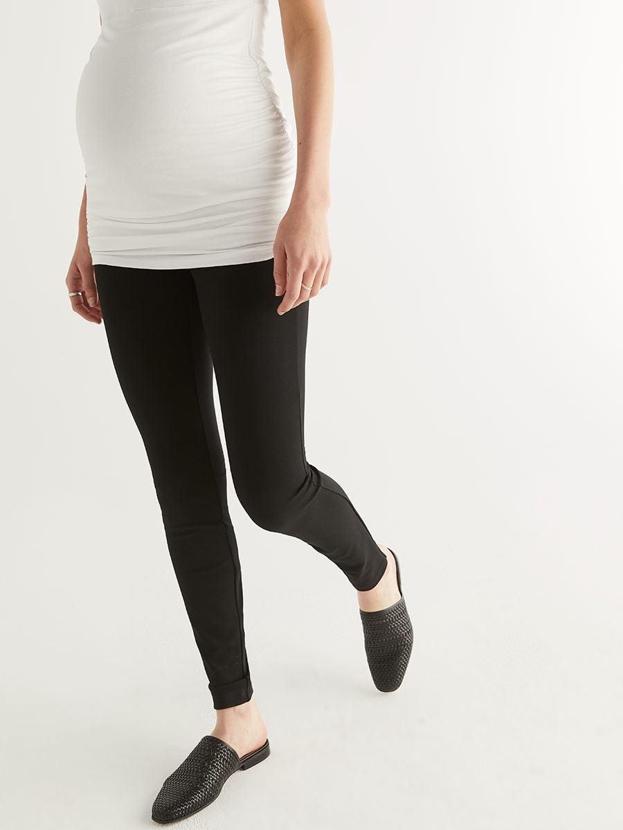 9a19470dd1027 Stork & Babe - Ponte de Roma Maternity Legging   Thyme Maternity