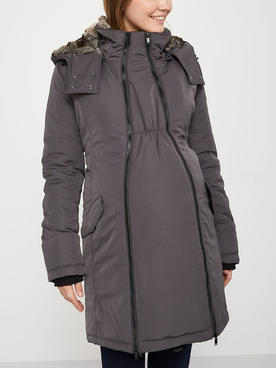 Parka with Extender Panel