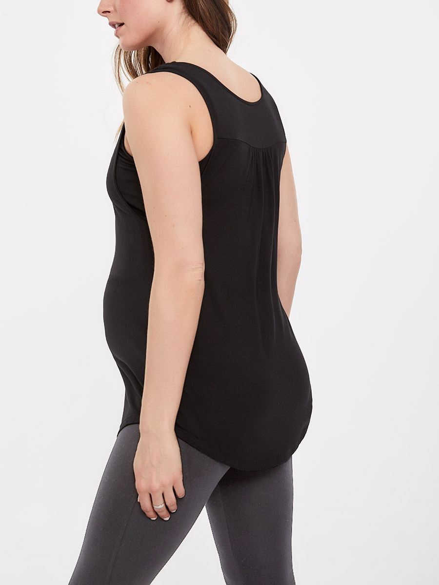 Sleeveless Racer Back Nursing Top