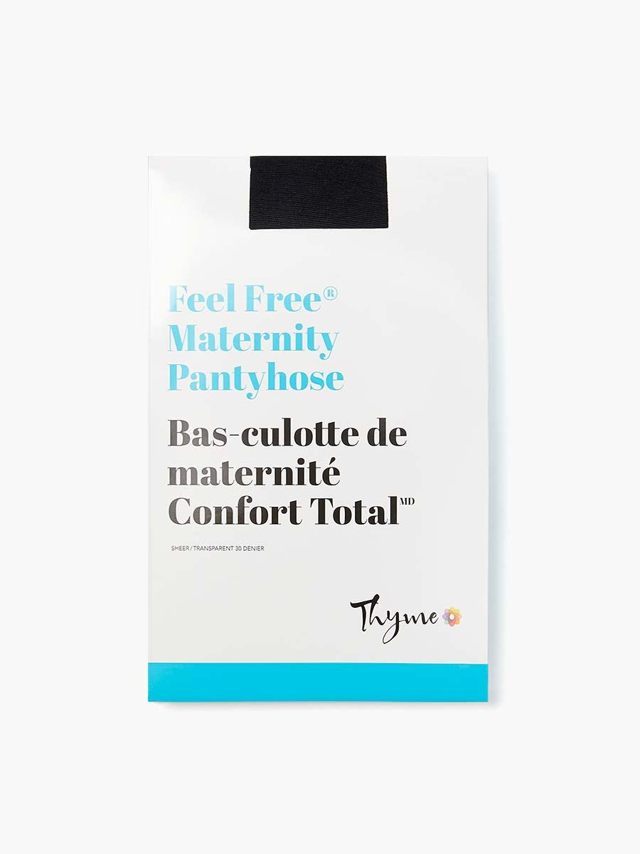 Collants de maternité à motifs de pois