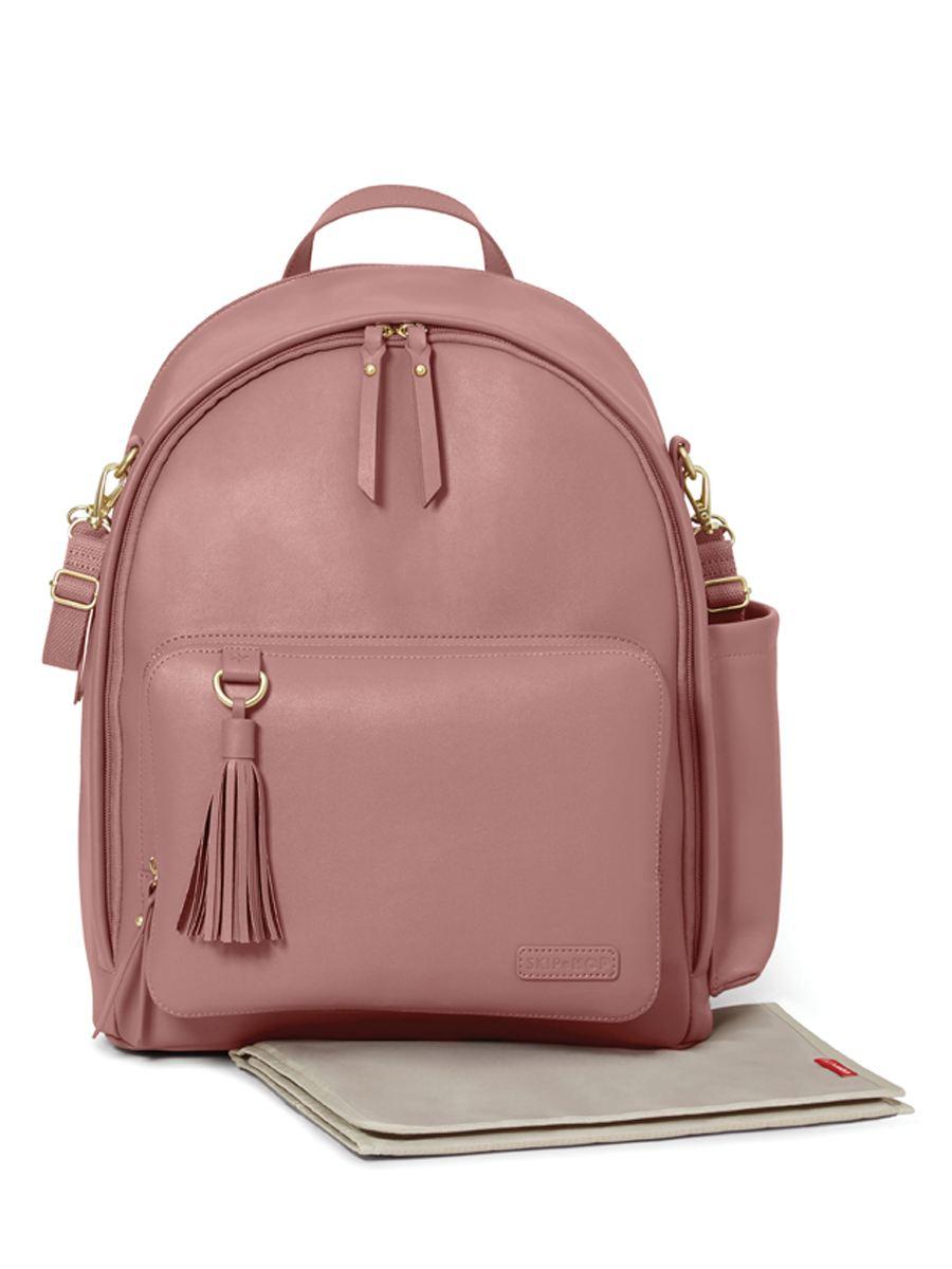 Skip Hop Greenwich Pink Backpack Diaper Bag