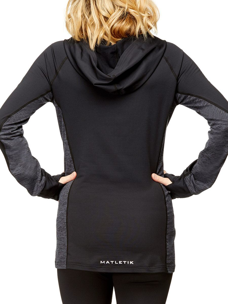 Matletik - Long Sleeve Hooded Pullover