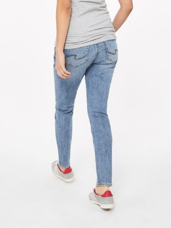 Silver Jeans - Light Blue Skinny Maternity Jean