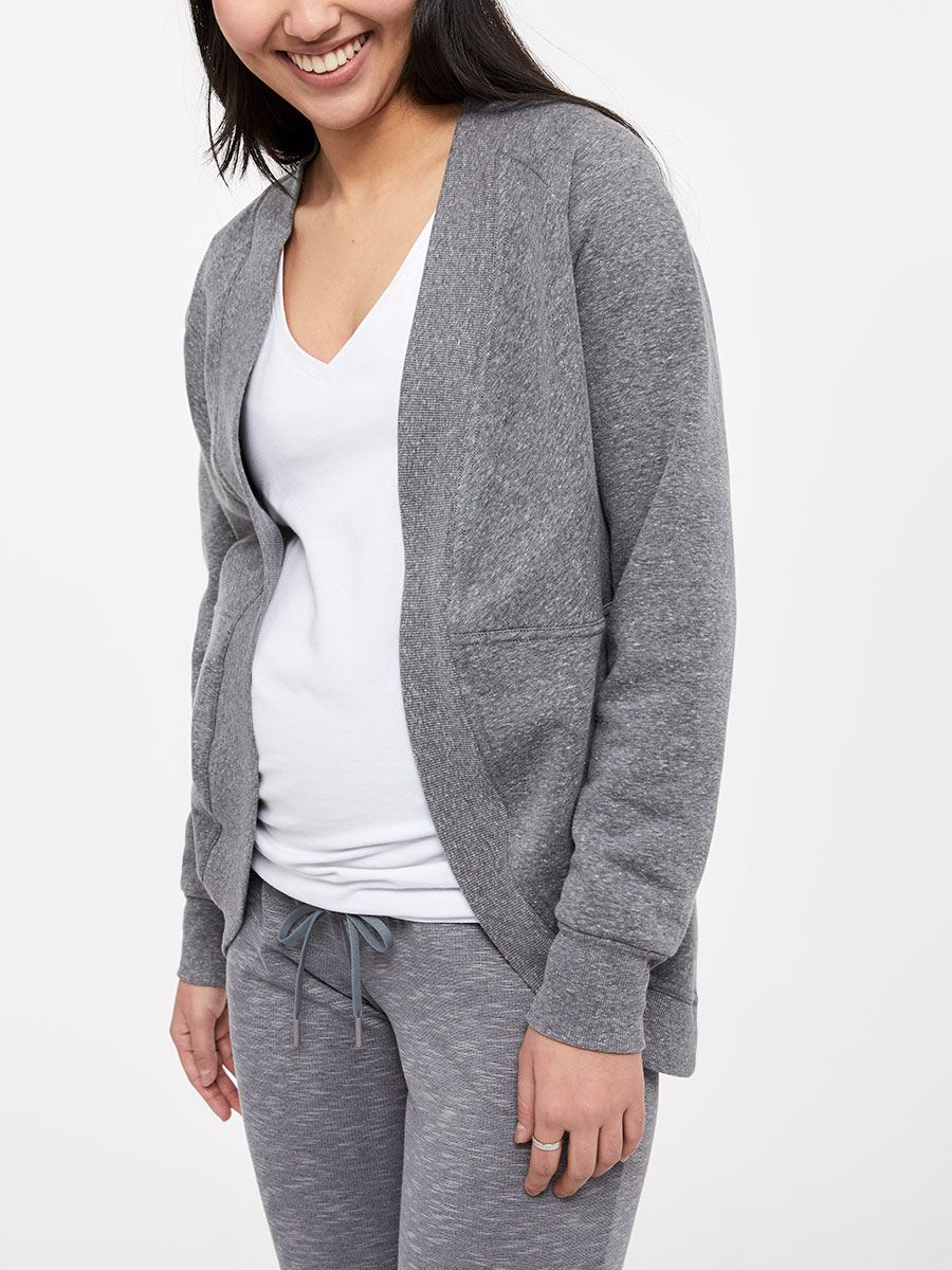 Long Sleeve Maternity Cardigan