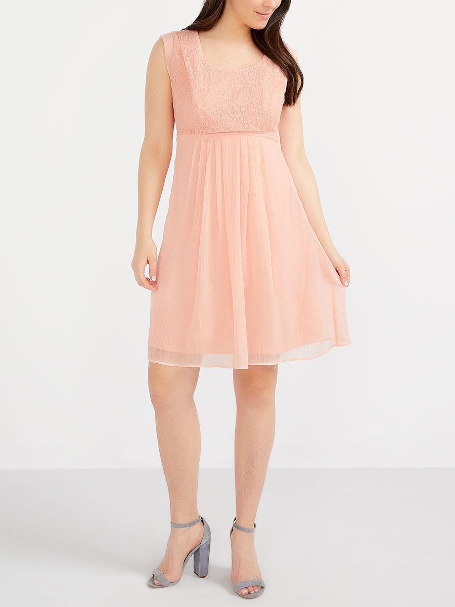6b793b8f1924c Nursing Dress with Lace | Thyme Maternity