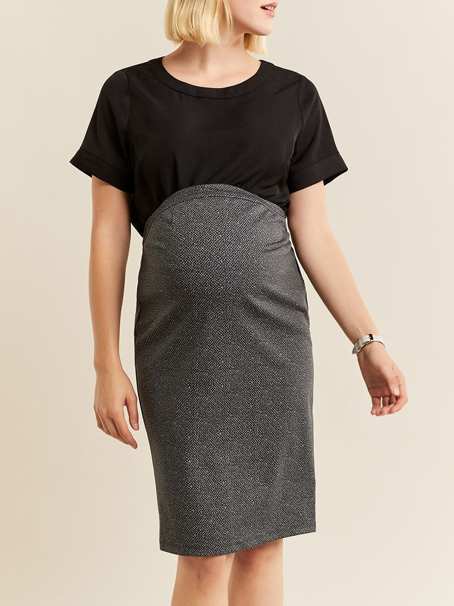 Stork & Babe - Ponte de Roma Maternity Pencil Skirt