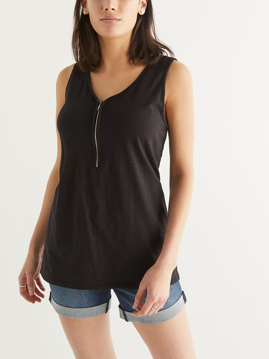 Sleeveless Nursing Top
