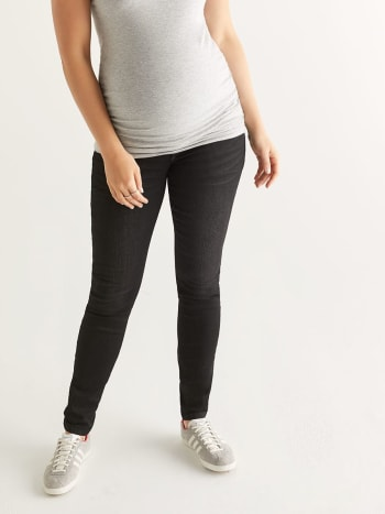 Super Skinny Black Maternity Jean