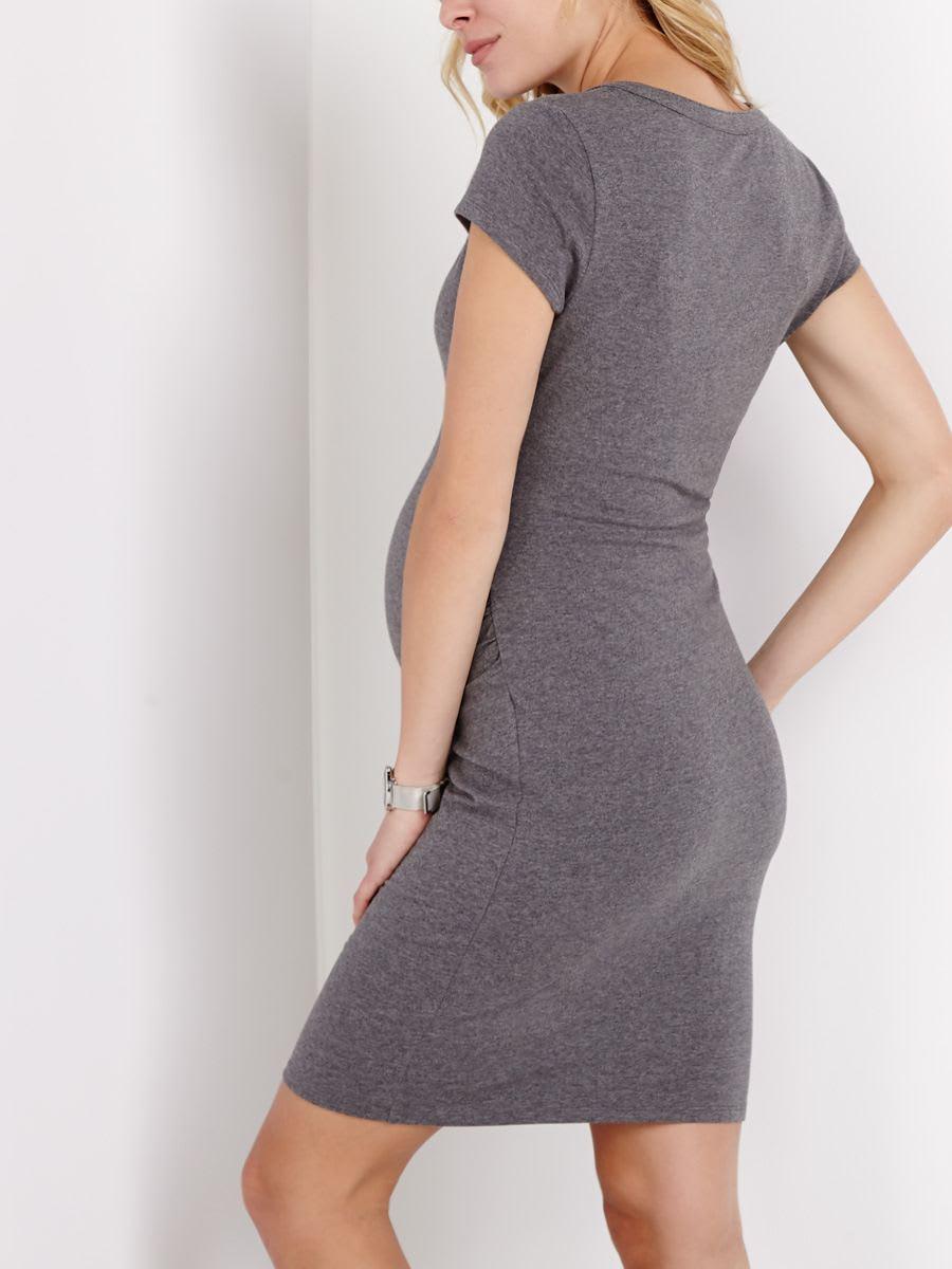 Short sleeve henley maternity dress thyme maternity short sleeve henley maternity dress ombrellifo Images