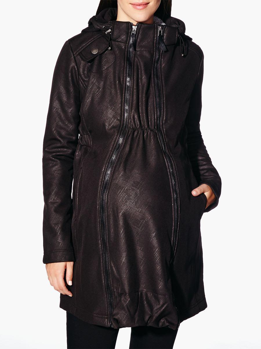 meilleurs prix divers design super service Manteau de maternité à capuchon avec panneau d'extension ...