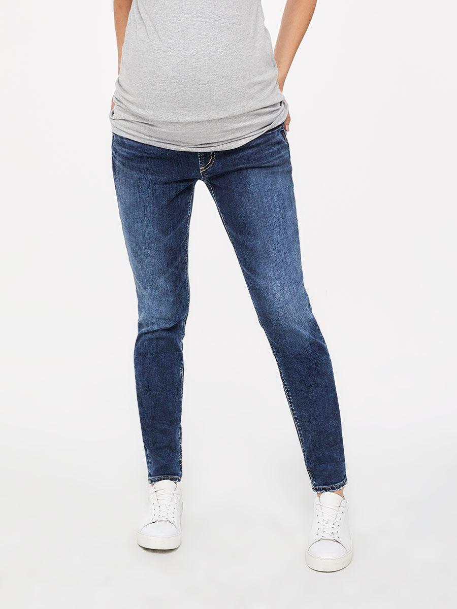 51c7692e7b043 Silver Jeans - Dark Skinny Maternity Jean | Thyme Maternity