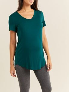 Solid Soft Maternity Top