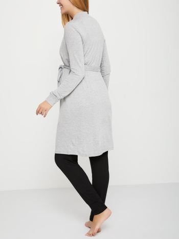 Long Sleeve Maternity Robe
