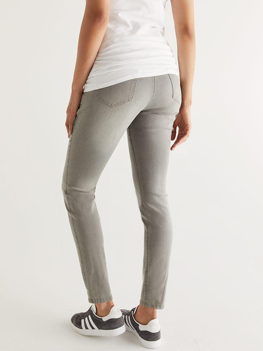 Grey Super Skinny Maternity Jean