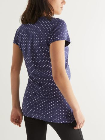 Polka Dot Nursing Top