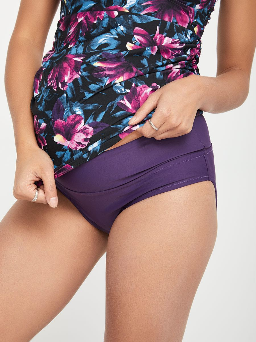 Reversible Maternity Swim Bottom