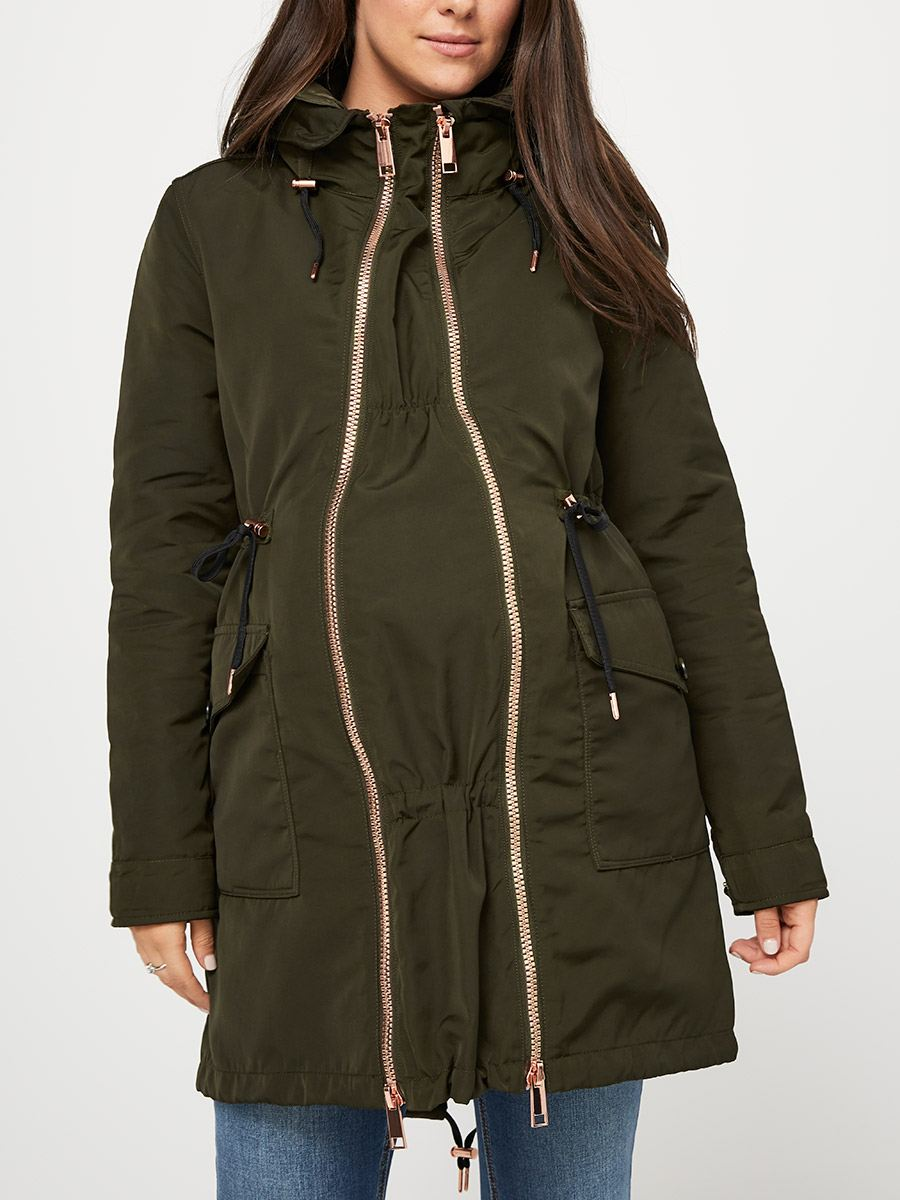 d0e16dc24cccd 3-in-1 Maternity Anorak | Thyme Maternity