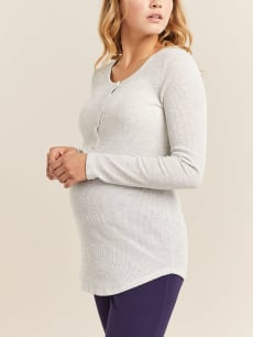 Henley Maternity Pyjama Top