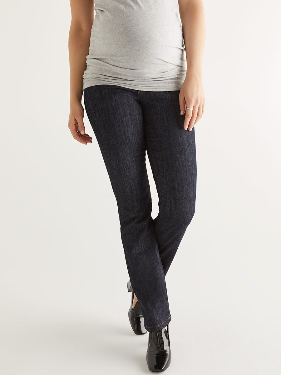 Rinse Wash Bootcut Maternity Jean