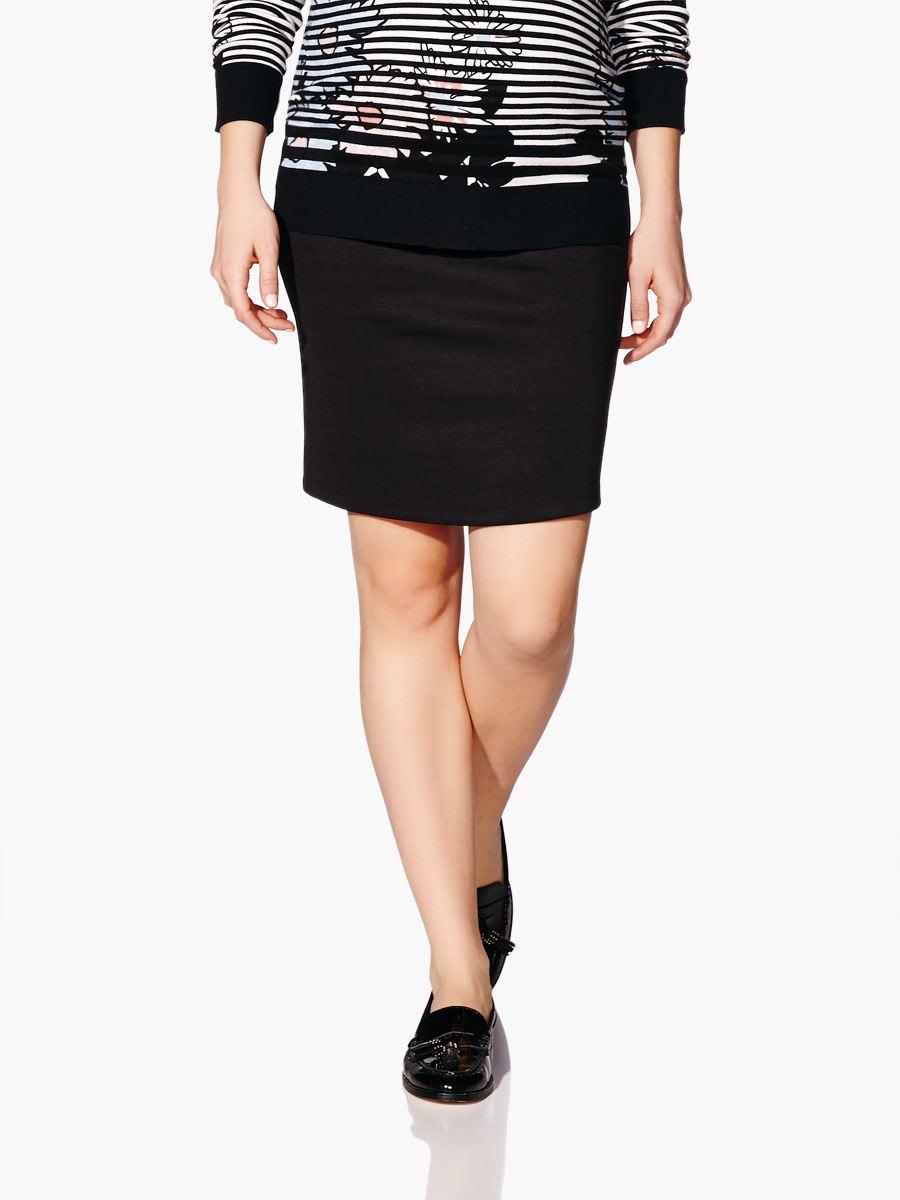 af00a6fe9c162 Stork & Babe - Black Maternity Pencil Skirt | Thyme Maternity