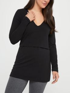 Black Nursing Top